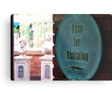 Now Open for Visitation Metal Print