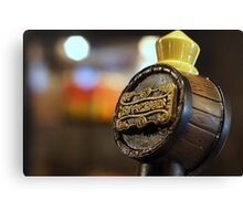 Butterbeer on Tap Canvas Print
