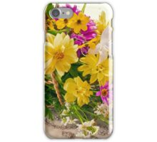 Last Of Summer In Tipped Basket  iPhone Case/Skin