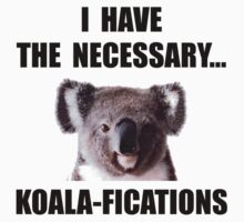 Koala Qualifications T-Shirt