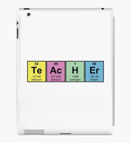 Science Teacher Chemical Elements iPad Case/Skin