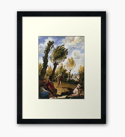 Domenico Fetti - The Parable Of The Weeds Framed Print