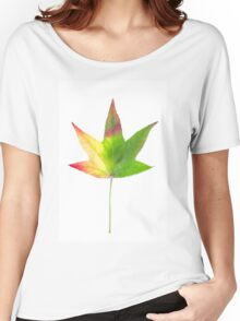 The colourful Sugargum leaf Women's Relaxed Fit T-Shirt