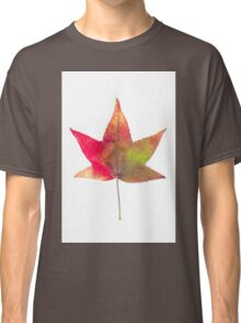 The colourful Sugargum leaf Classic T-Shirt