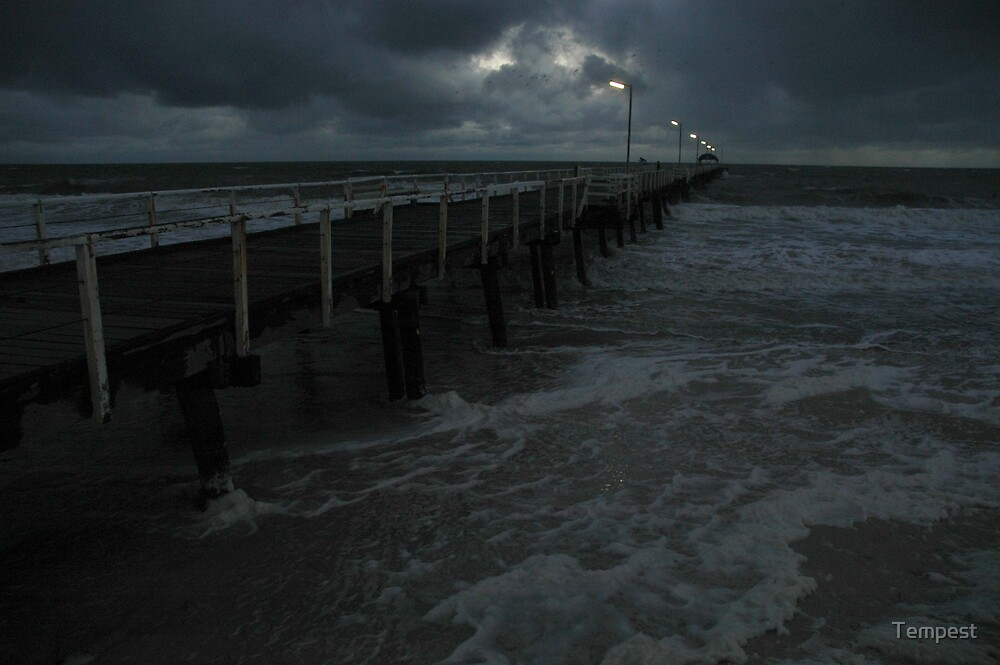 Henley Beach jetty by Tempest