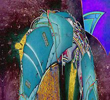 Blue Knight by kasbad