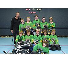 10 and Under team Winter 2007 season Photographic Print