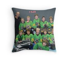 10 and Under team Winter 2007 season Throw Pillow