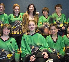 12 and Under team Winter 2007 season by Lilydale Rats Inline Hockey Club