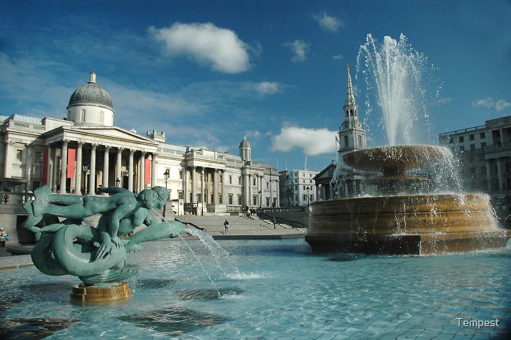 Trafalgar Square by Tempest