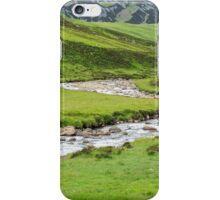 Eastern Highland Stream, Scotland iPhone Case/Skin