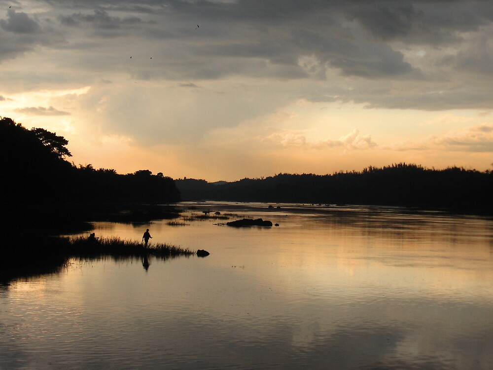 Reflection On Riverside by vikram kumar