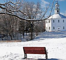 Richmond Round Church in the Snow by ScottSherman