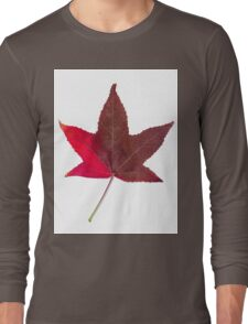 The colourful Sugargum leaf Long Sleeve T-Shirt