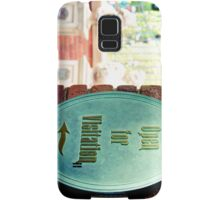 Now Open for Visitation Samsung Galaxy Case/Skin