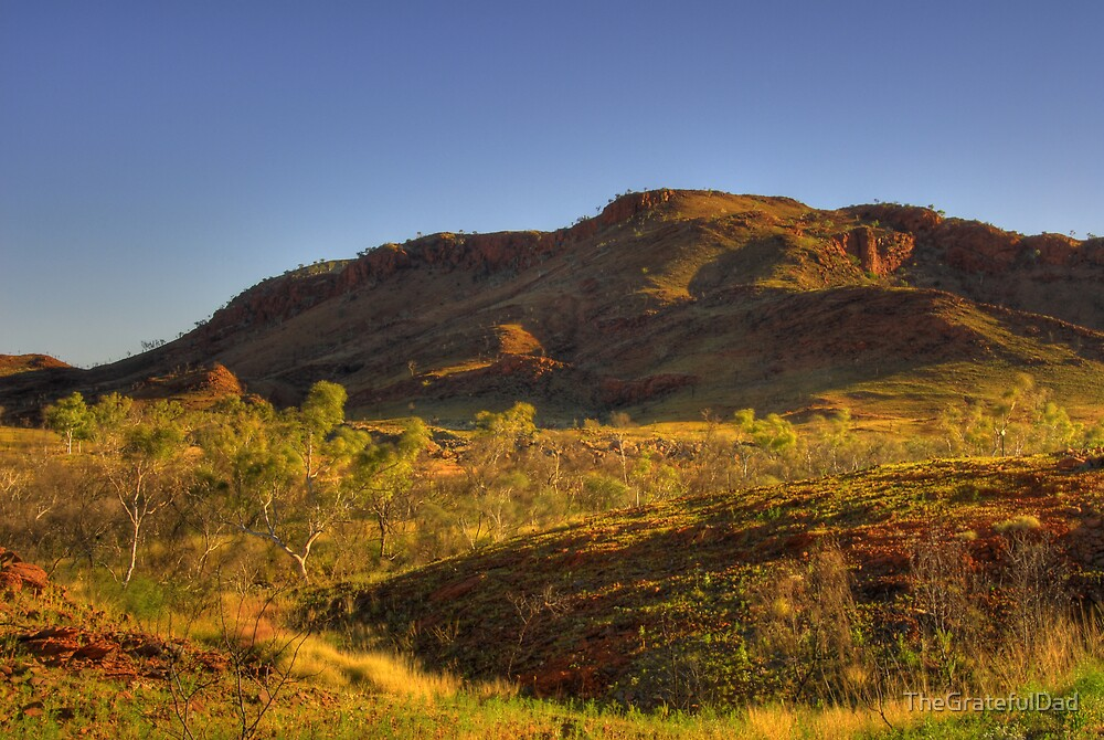 Late Afternoon Sun In The Pilbara. by TheGratefulDad