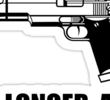 Ammunition Warning Shot Sticker