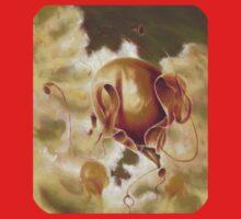 Helliumbus, Surreal Nature Balloon Kids Tee