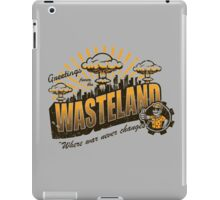 Greetings from the Wasteland! iPad Case/Skin