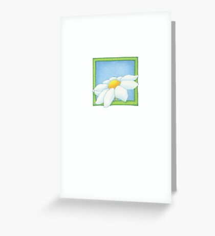A Flower Greeting Card