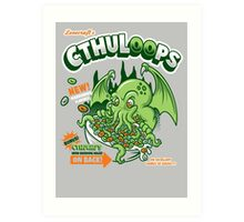 Cthuloops! All New Flavors! Art Print