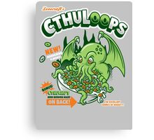 Cthuloops! All New Flavors! Canvas Print