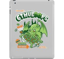 Cthuloops! All New Flavors! iPad Case/Skin