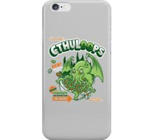 Cthuloops! All New Flavors! iPhone Case/Skin