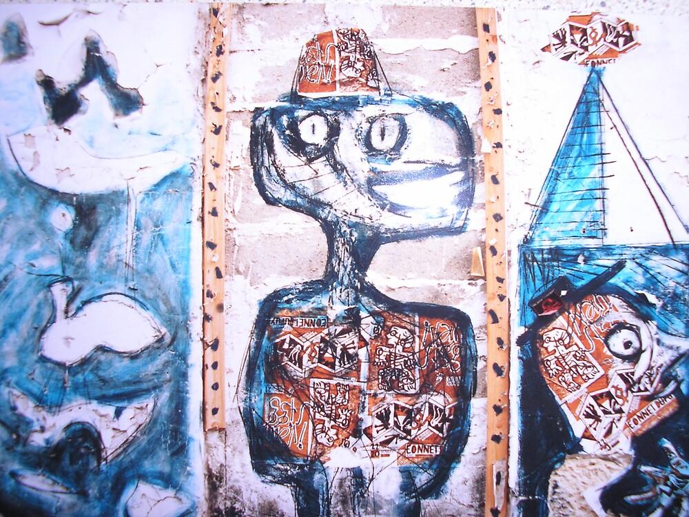 Parisian Graffitti by Maddie