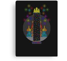 Tetris Tower Canvas Print