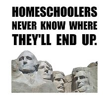 Homeschool Rushmore by AmazingMart