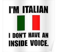 Italian Inside Voice Poster