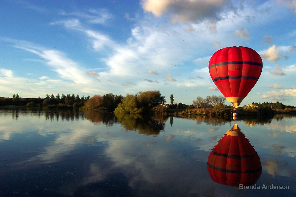 Balloon Reflection by Brenda Anderson