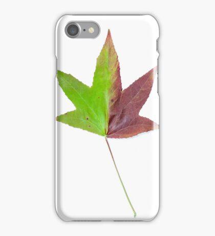 The colourful Sugargum leaf iPhone Case/Skin