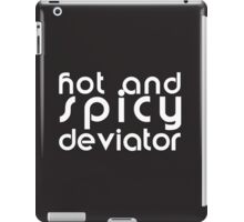 Hot and Spicy Deviator iPad Case/Skin