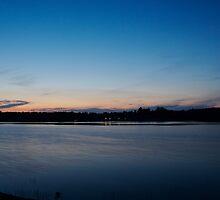 Muskoka Sunset by David Bridle