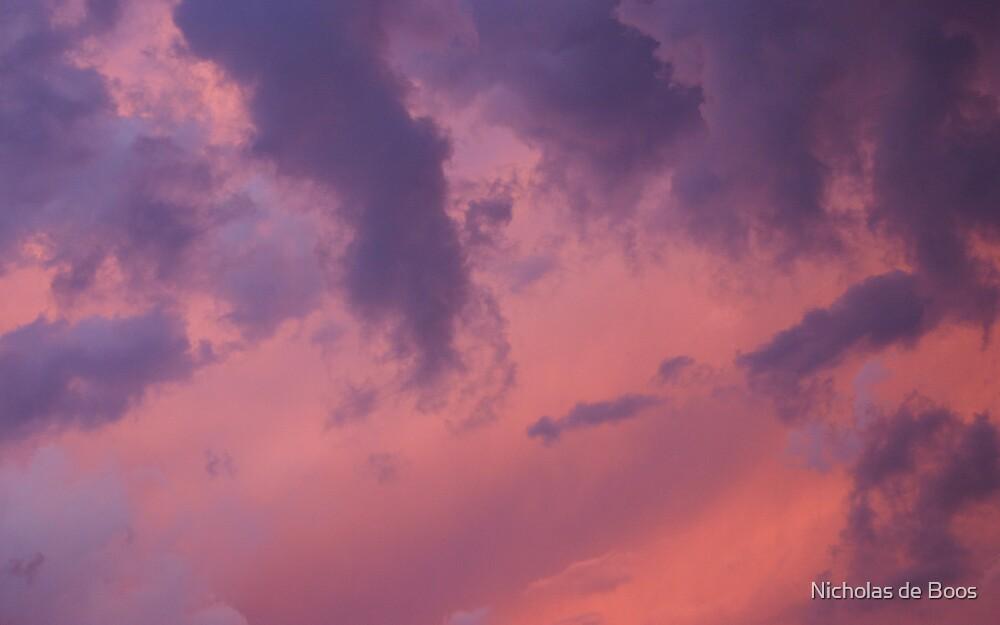 Brisbane Sunset II by Nick de Boos