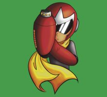 Proto Man Bust by The-Firestorm