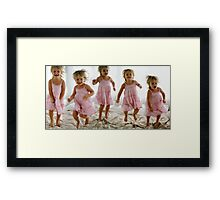 """Jumpy Jump"" Framed Print"