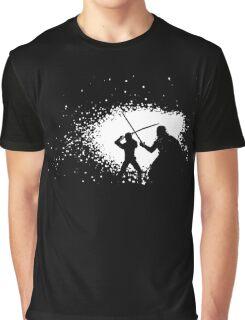 Luke vs Vader Duel Graphic T-Shirt