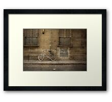 Firenze Bicycle Framed Print