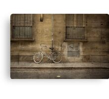 Firenze Bicycle Canvas Print