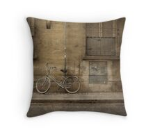 Firenze Bicycle Throw Pillow