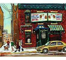 FAIRMOUNT BAGEL Photographic Print