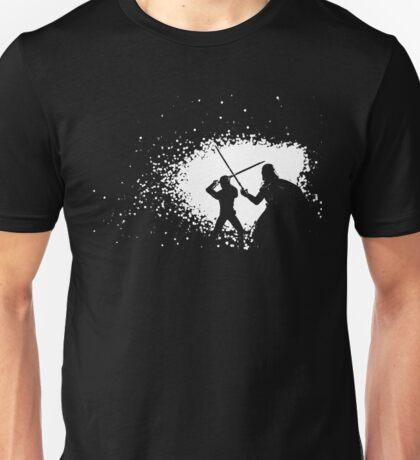Luke vs Vader Duel Unisex T-Shirt