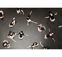 ballet from above Photographic Print