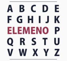 English Alphapbet ELEMENO Song by TheShirtYurt