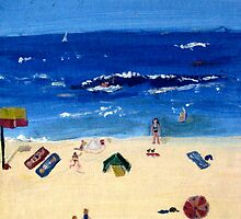 Coogee Beach by Julie Stewart