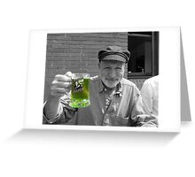 Green Beer SC Greeting Card