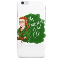 Tauriel - My Girlfriend is an Elf iPhone Case/Skin